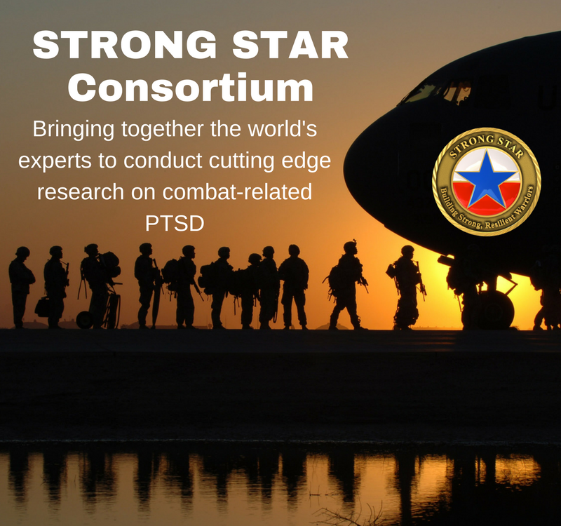 STRONG STAR, Cognitive Processing Therapy, Prolonged Exposure, CPT, PE, Research Evidence-Based Treatment, PTSD, Combat, Military, Veteran,