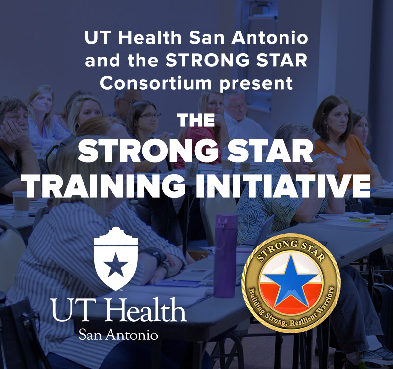 STRONG STAR, Training, CPT, PE, PTSD, Cognitive Processing Therapy, Prolonged Exposure